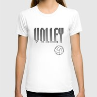 volleyball T-shirts featuring Volleyball by raineon