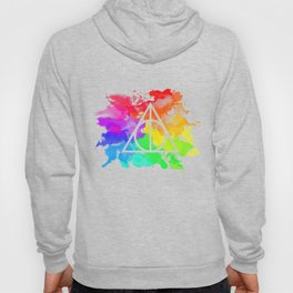 Rainbow Hallows  Hoody