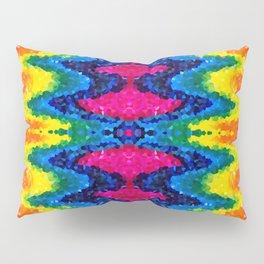 rainbow gem Pillow Sham