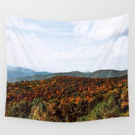 Skyline Drive Wall Tapestry