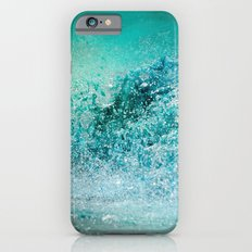 Turquoise Wave - Blue Water Scene Slim Case iPhone 6