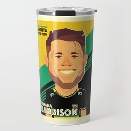 Teimana Harrison - Northampton Saints Travel Mug