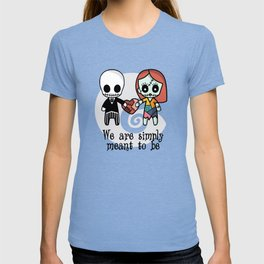 Jack and Sally - We are simply meant to be T-shirt