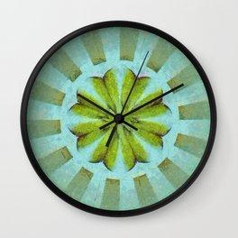 Tronk Peeled Flower  ID:16165-022118-01940 Wall Clock
