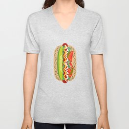 Chicago Style Unisex V-Neck