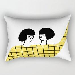 Dancing with myself Rectangular Pillow