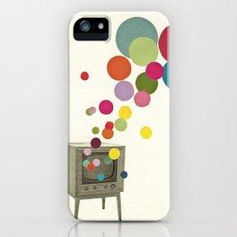 Colour Television iPhone Case