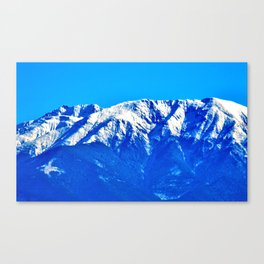 Close-up of the Carpathians Mountains, Transylvania Canvas Print