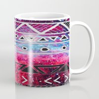 aztec Mugs featuring AZTEC by UDIN