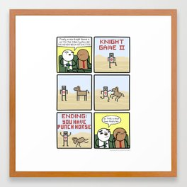 Antics #203 - the future is now Framed Art Print