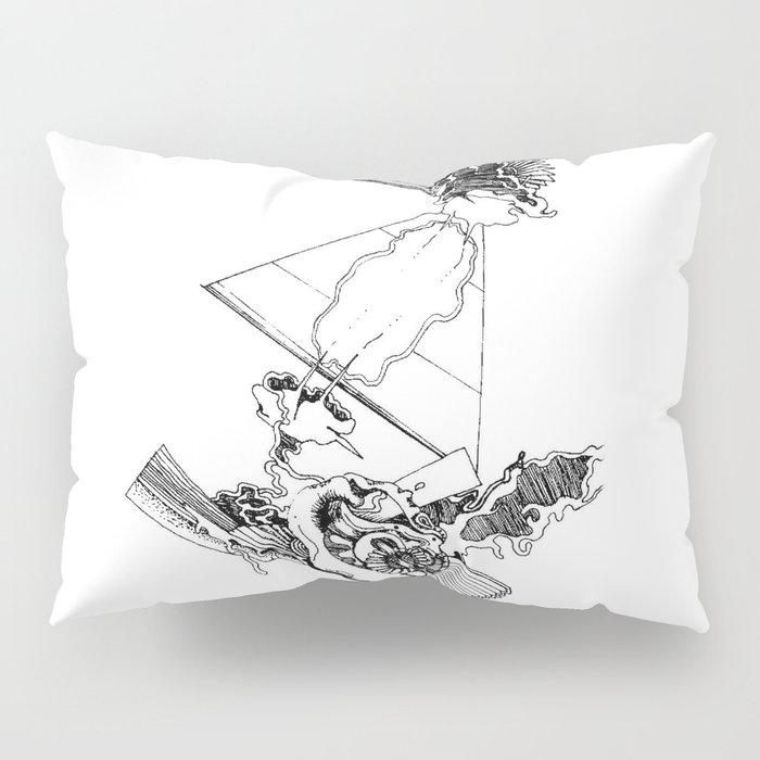 intergalactic flight Pillow Sham
