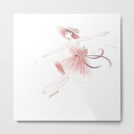 dancing in a dress Metal Print