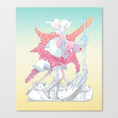 Fourth Grade Fantasy (proliferated) Canvas Print