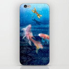 The Koi Damsel iPhone Skin