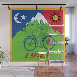 LSD 1943 - Hoffman Trip Wall Mural