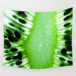 Green Kiwi Wall Tapestry