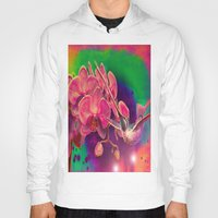 hummingbird Hoodies featuring Hummingbird by Joe Ganech