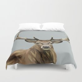 Yes Deer Duvet Cover