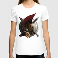 warrior T-shirts featuring Warrior by Det Tidkun