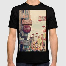Chinatown (San Francisco) X-LARGE Mens Fitted Tee Black