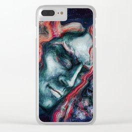 This story hasn't been written yet Clear iPhone Case