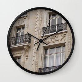 Lat Wall Clock