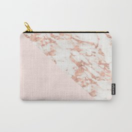 Rose gold blush aesthetic Carry-All Pouch