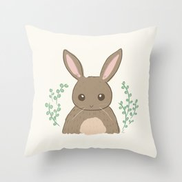 Smol Bun Throw Pillow