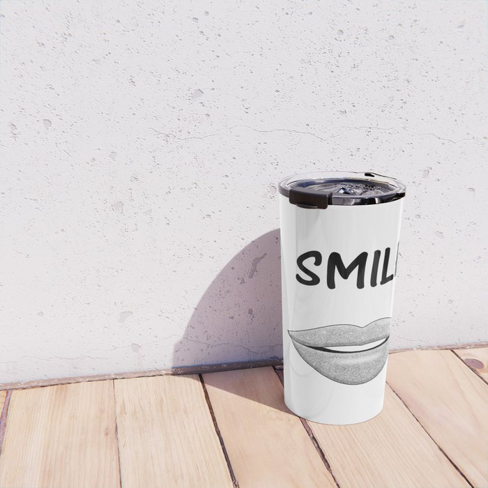 Smile! Travel Mug
