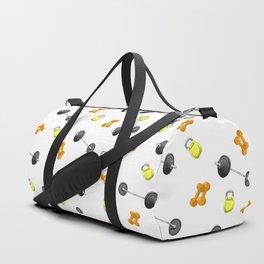 Weight Pattern Duffle Bag