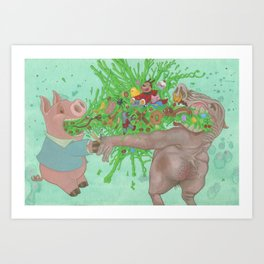 Its whats on the inside Art Print