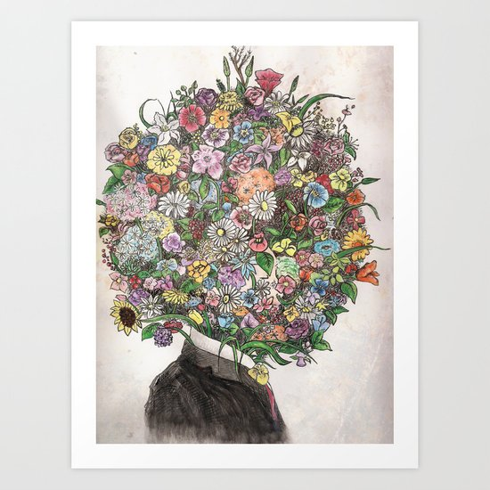 Encompasseed Art Print