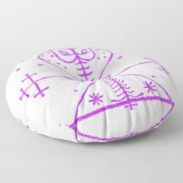 Dusty Veve Floor Pillow