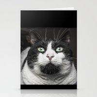 kitty Stationery Cards featuring Kitty Cat by Joao Bizarro