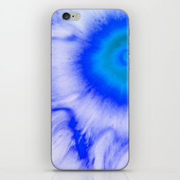 Blue Flower iPhone Skin