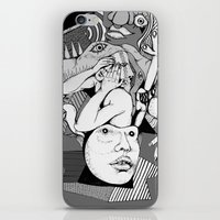 depression iPhone & iPod Skins featuring Depression by Benson Koo