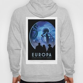 Europa - NASA Space Travel Poster Hoody