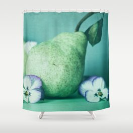 Pair of Pears Shower Curtain