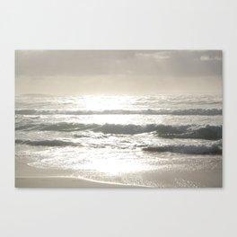Sushine Camps Bay Beach Canvas Print