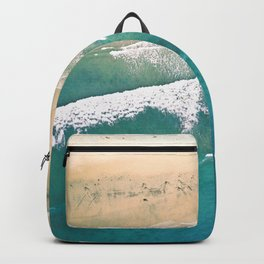 Turquoise Sea Beach Backpack