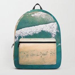 Turquoise Sea Beach Backpack