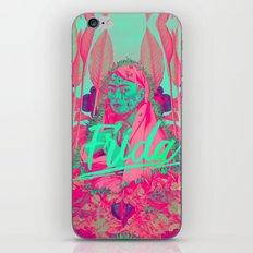 Frida Kahlo neon II iPhone & iPod Skin