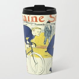 Vintage poster - La Chaine Simpson Travel Mug