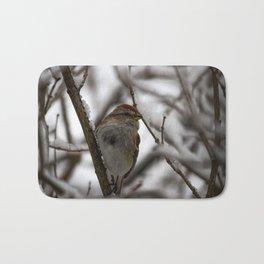 Chipping Sparrow Bath Mat