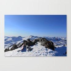 Mt Tallac Canvas Print