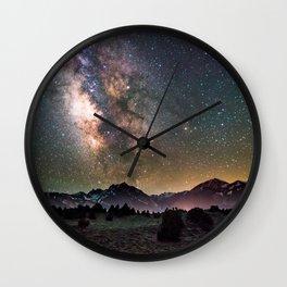 MilkyWay Night Wall Clock