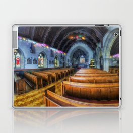 Church at Christmas Laptop & iPad Skin