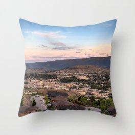 Vernon Cityscape 02 Throw Pillow