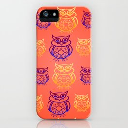 Owl Nation iPhone Case