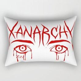 Lil Xan Anarchy Rectangular Pillow